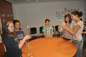 ALE2011 Families Play the Marshmallow Challenge