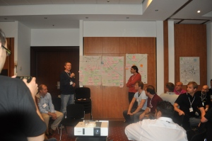 Reporting Back to the Wider Group at the ALE2011 Retrospective