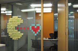 Post-It Wars - Pacman