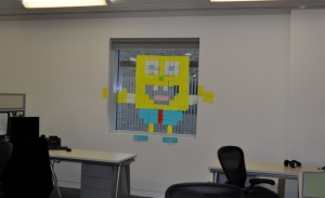 Post-It Wars - Spongebob - Inside