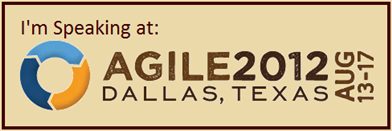 Agile 2012 Conference, Dallas, Texas