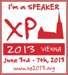 XP 2013 Conference, Vienna, Austria